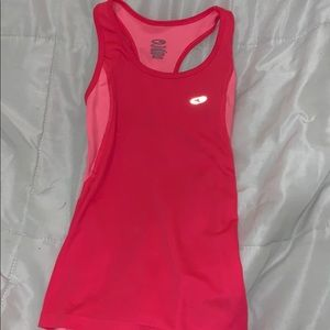 hot pink workout tank top